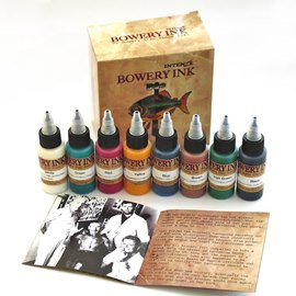 Intenze Bowery Stan Moskowitz Traditional Tattoo Inks
